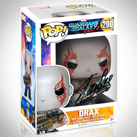 Drax // Stan Lee Signed // Funko Pop