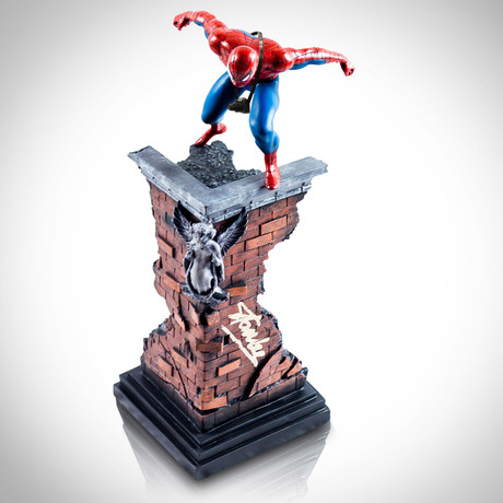 Spider-Man W/ Camera // Stan Lee Signed // Vintage 2001 Limited Edition Statue