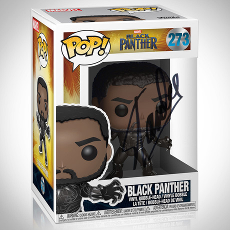 Black Panther // Stan Lee Signed // Funko Pop