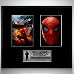 Spider-Man // Stan Lee Signed Mask // Custom Shadow Box Frame (Signed Mask Only)