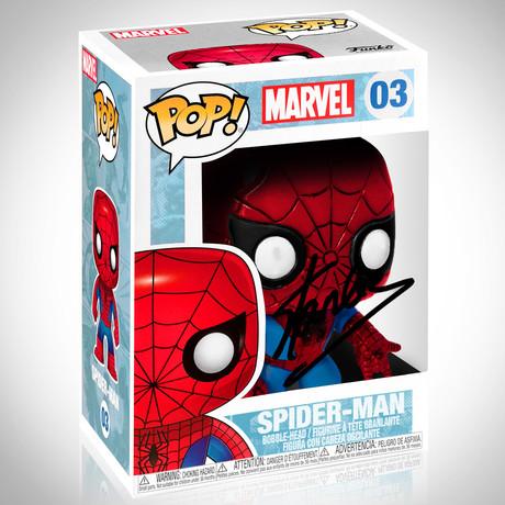 Spider-Man // Stan Lee Signed // Funko Pop