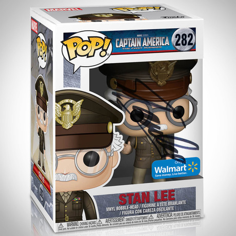 Stan Lee General // Stan Lee Signed // Exclusive Edition Funko Pop