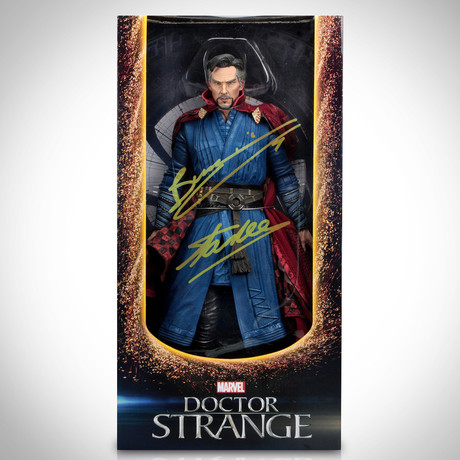 Dr. Strange // Stan Lee + Benedict Cumberbatch Signed 1/4 Scale // Limited Edition Statue