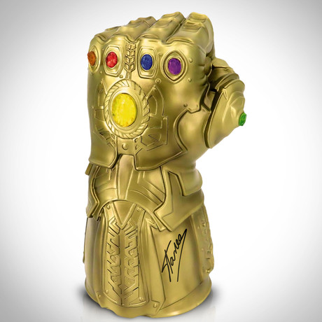 Infinity Gauntlet // Stan Lee Signed // Bust Bank Limited Edition Statue