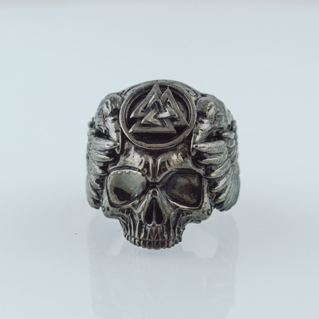 Black Series // Odin's Skull + Ravens Ring (5)