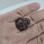 Black Series // Mandala Mask Ring (6)