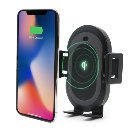 Bolt Smart Car Mount & Qi Wireless Charger // With Dash And Windshield Mount