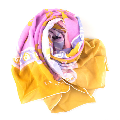 Leonard // Women's Silk Scarf // Multi-Color