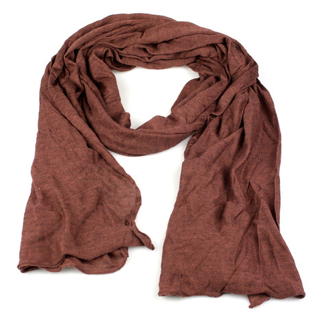 Brunello Cucinelli // Women's Cashmere Blend Scarf // Brown