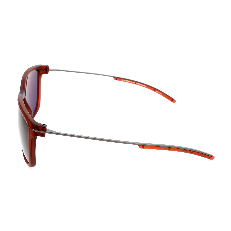 70742c8d0ee8 Unisex P8637 Sunglasses    Red Transparent - Porsche Design - Touch ...