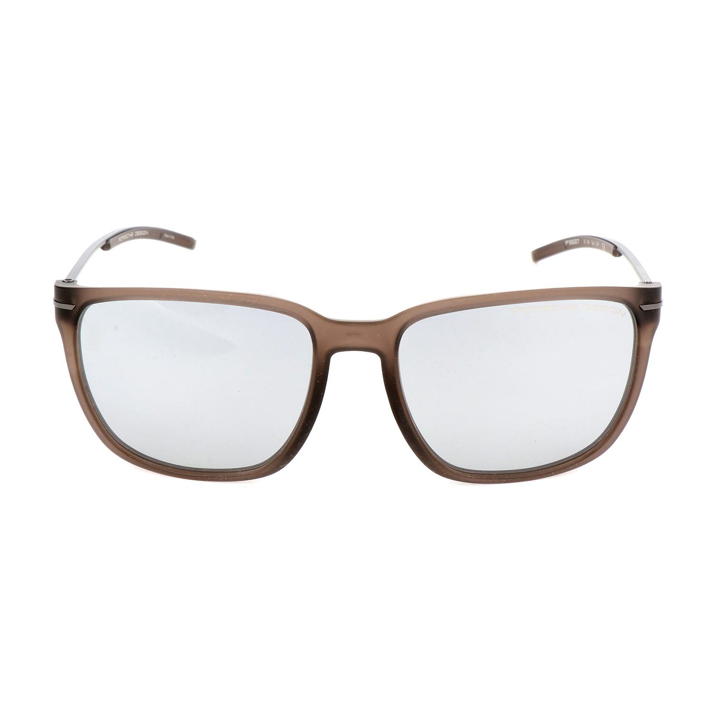 5ef8d3602237 Unisex P8637 Sunglasses    Transparent Brown - Porsche Design ...