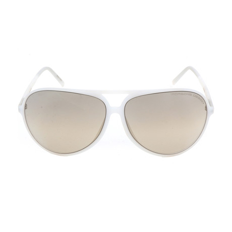 Men's P8595 Sunglasses // White