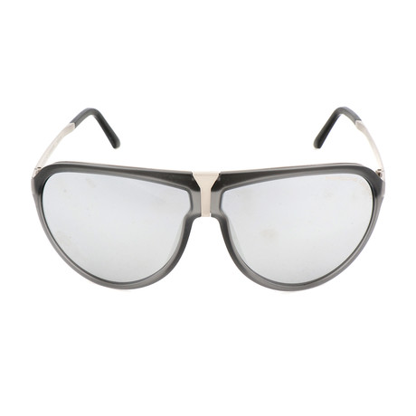 Unisex P8619 Sunglasses // Transparent Gray