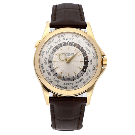 Patek Philippe Complications World Time Automatic // 5130J-001 // Pre-Owned