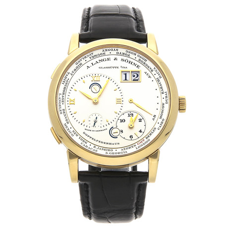 A. Lange & Sohne Lange 1 Time Zone Manual Wind // 116.021 // Pre-Owned