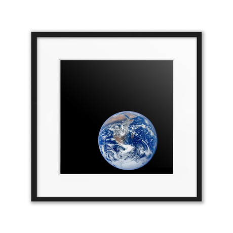 "Blue Marble // C-Print (11.8""W x 11.8""H)"
