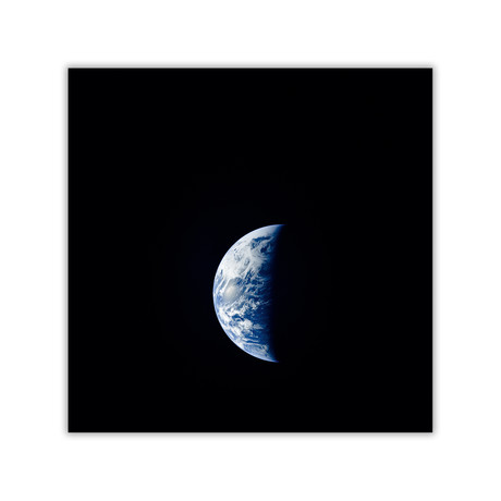 "Crescent Earth // C-Print (11.8""W x 11.8""H)"