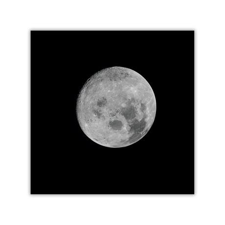 "Full Moon // C-Print (11.8""W x 11.8""H)"