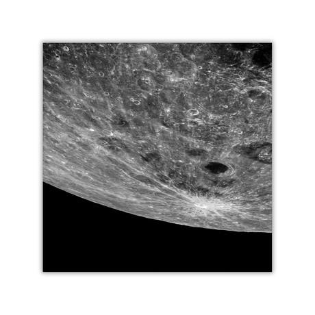 "Lunar Impact // C-Print (11.8""W x 11.8""H)"
