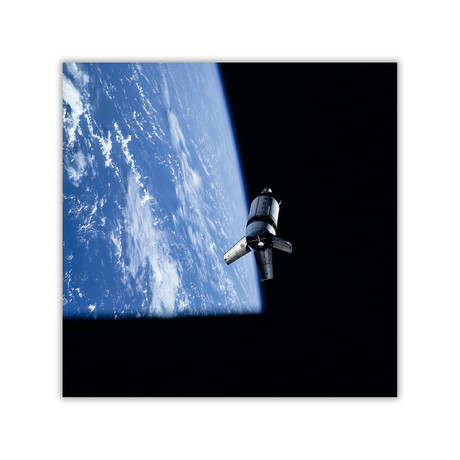 "Saturn S-IVB // C-Print (11.8""W x 11.8""H)"