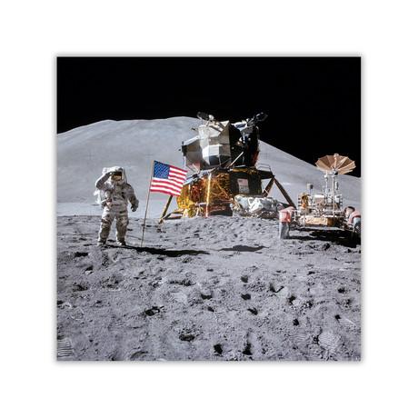 "Space Salute // C-Print (11.8""W x 11.8""H)"