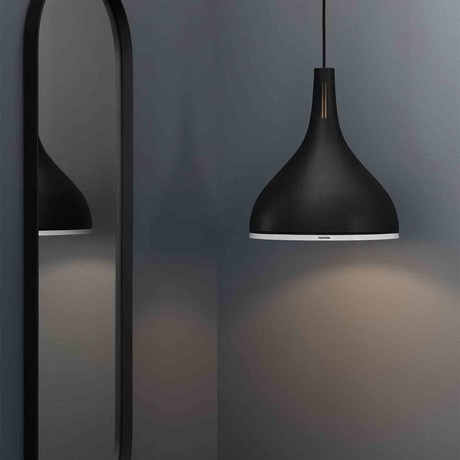 Caster 25 // Pendant Lamp (Black Beauty)