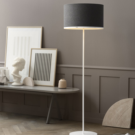 Antares Floor Lamp // Sargas 45 (Dark Grey)