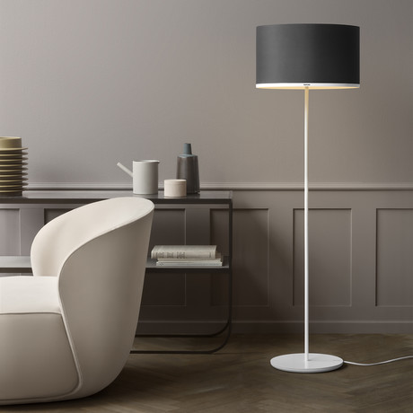 Antares Floor Lamp // Mintaka 45 (Pewter)