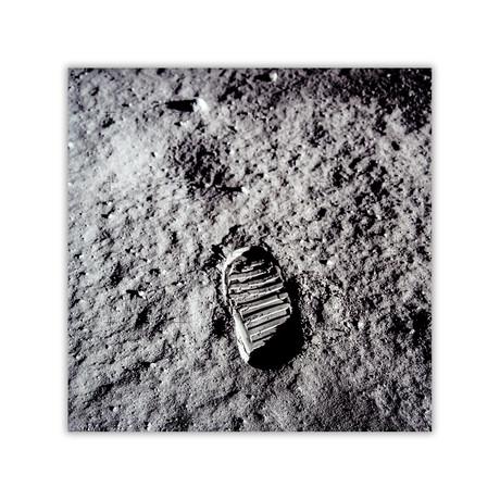 "Aldrin's Footprint // C-Print (11.8""W x 11.8""H)"