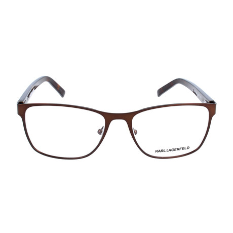 Unisex KL232 Frames // Satin Brown