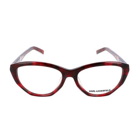 Women's KL850 Frames // Red Havana
