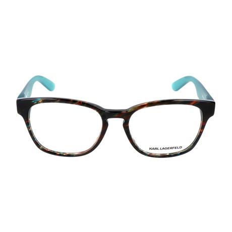 Unisex KL880 Frames // Green Brown Marble
