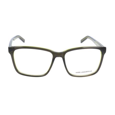 Unisex KL885 Frames // Dark Green + Green