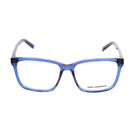 Unisex KL885 Frames // Blue + Rose
