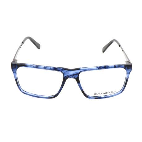 Men's KL916 Frames // Striped Blue