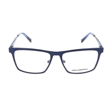 Men's KL243 Frames // Satin Blue
