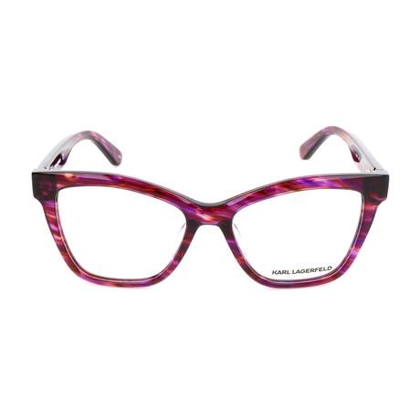 Women's KL923 Frames // Striped Purple
