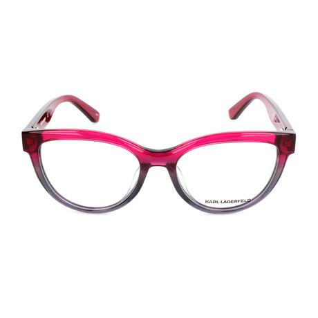 Women's KL922 Frames // Fuchsia + Gray Iridescent