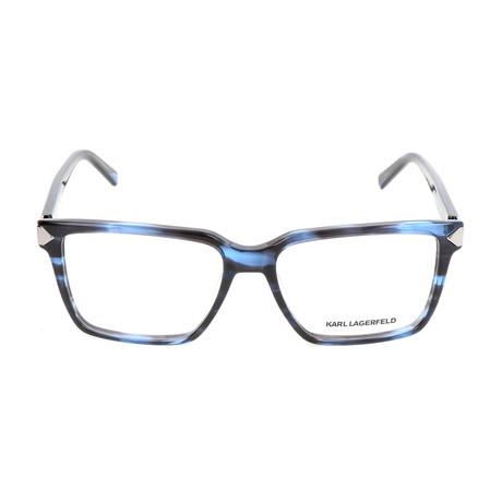 Men's KL940 Frames // Blue Striped
