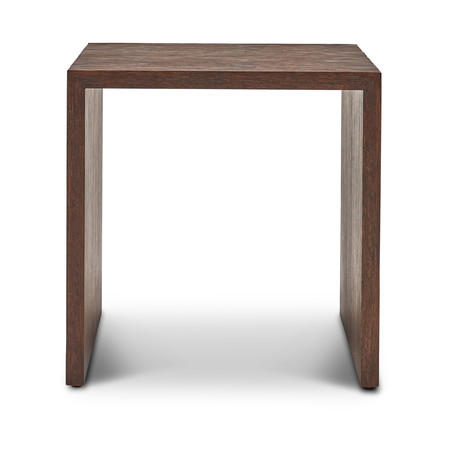 Justine End Table (Brown)