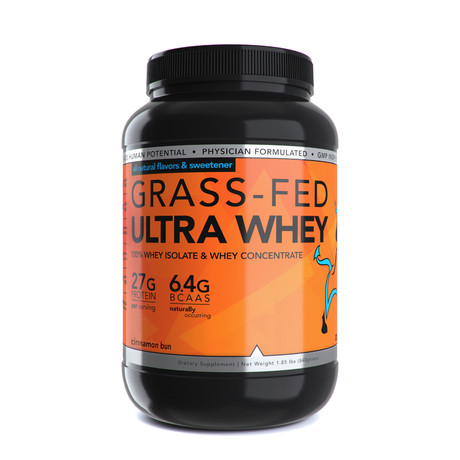 Grass-Fed Ultra Whey // 23 Servings (Chocolate)