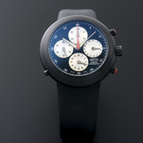 Ikepod Chronometer Chronograph Automatic // MG // Store Display