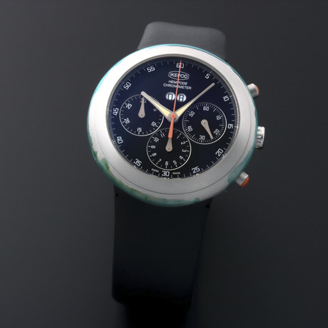 Ikepod Chronometer Date Chronograph Automatic // MG // Store Display