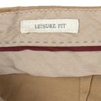 Brunello Cucinelli // Cotton Crête Dress Pants // Camel (50)