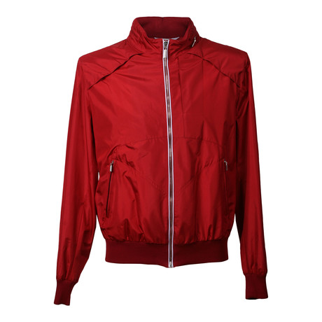 Lightweight Bomber Jacket // Red (XS)