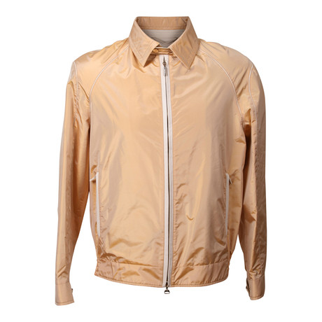 Lightweight Bomber Jacket // Orange (XS)