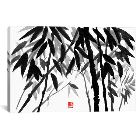 "Bamboo Forest (26""W x 18""H x 0.75""D)"