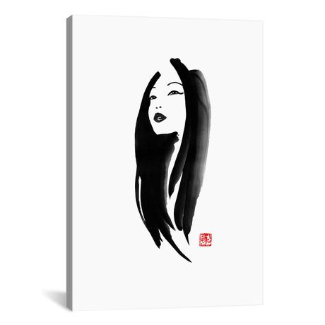 """Geisha I (18""""W x 26""""H x 0.75""""D)"""