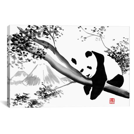 """Panda's Tree (26""""W x 18""""H x 0.75""""D)"""