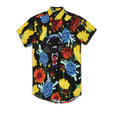 Devour Woven Shirt // Multi (S)